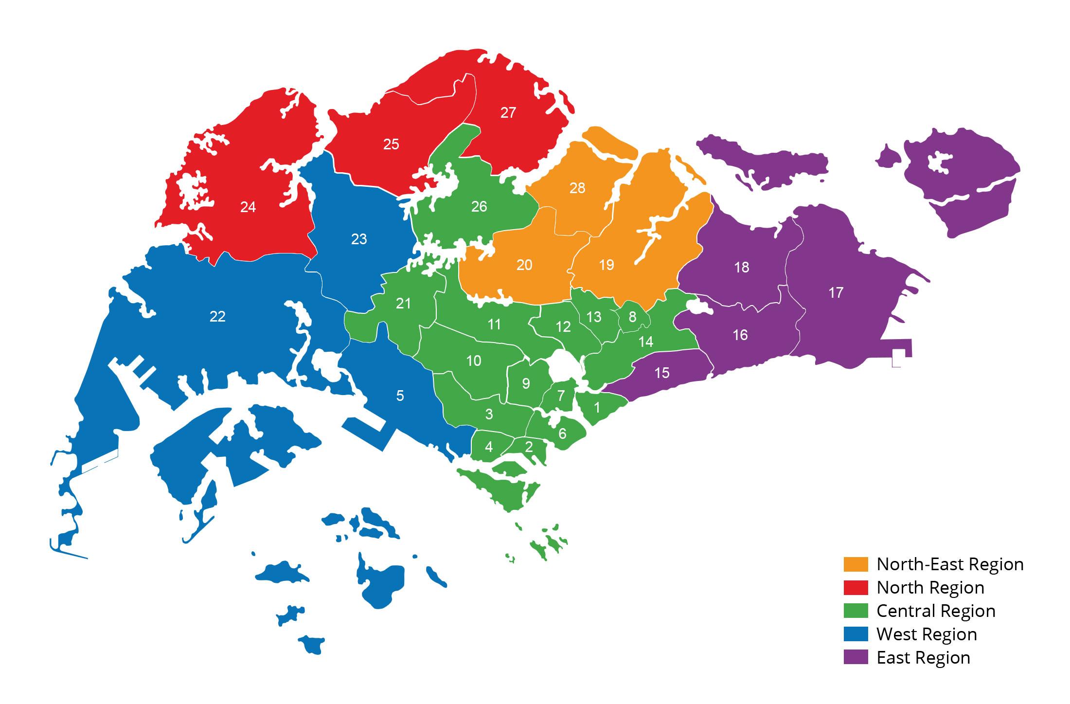 Region of Singapore