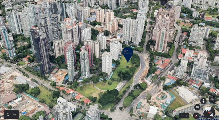 Singapore Biggest Condo by Land Area